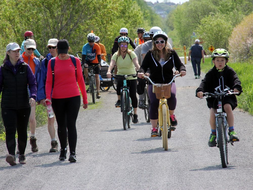 The Algonquin Trail attracts a variety of users. (Photo: Pembroke Observer)