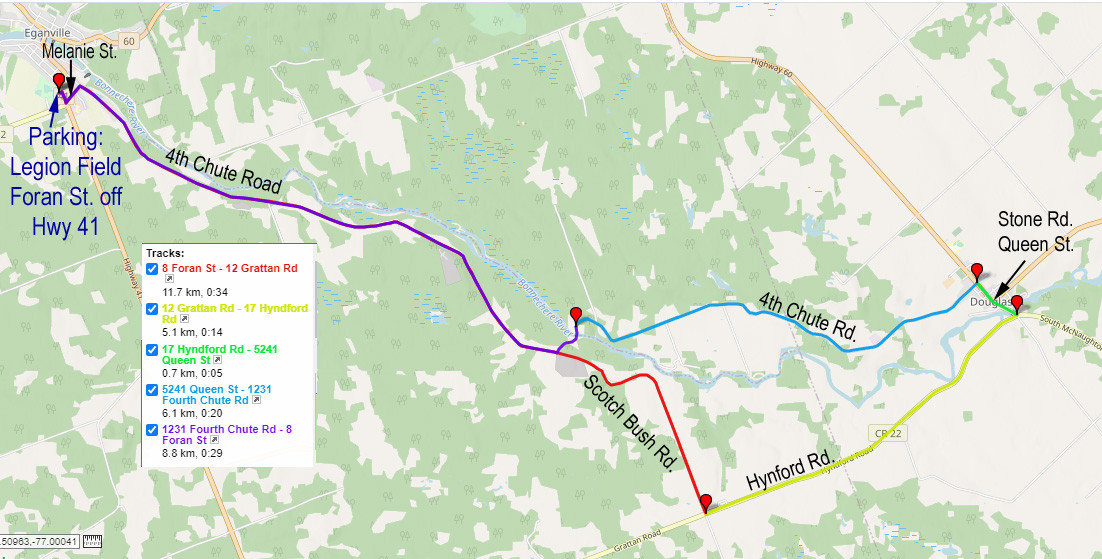 Bonnechere Blast Map