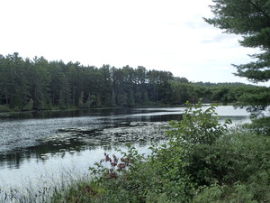 <b>You cross the Bonnechere River</b>